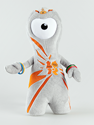 London 2012:s maskot Wenlock
