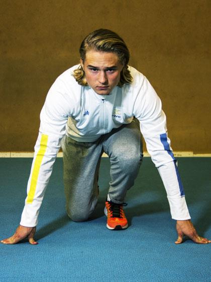 Fredrik Samuelsson är redo för nästa steg. Foto: Josefine Sjöberg
