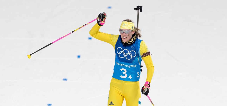 Hanna Öberg fyra i jaktstarten i VM i skidskytte   SvD