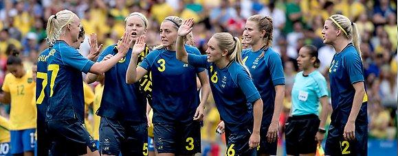 Det råder svensk fotbollsfeber - Sveriges Olympiska Kommitté b20aa1852de34